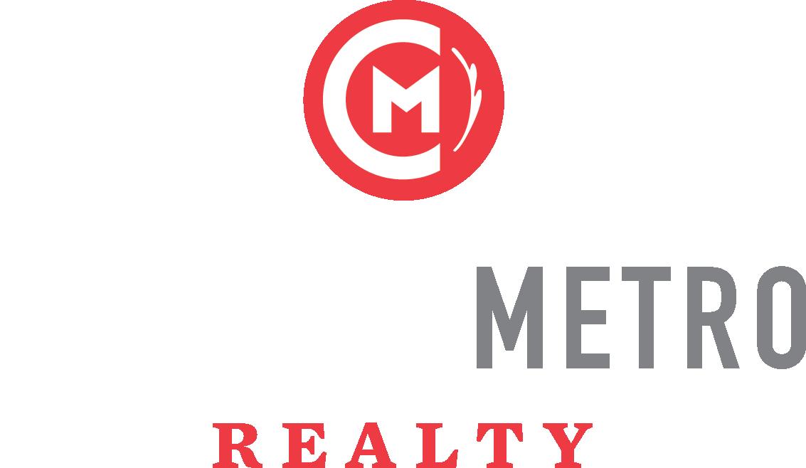 Central Metro Realty light logo