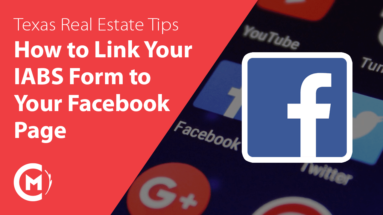 how to link your information about brokerage services to your Facebook profile for texas real estate agents